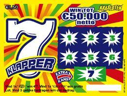 7 Klapper kraslot