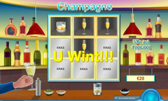 Champagne kraslot
