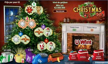 Christmas joy kraslot