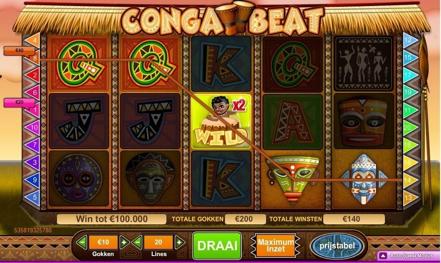 Conga Beat slot