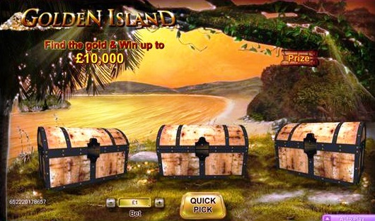 Golden Island spel