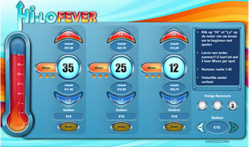 High-Lo Fever spel