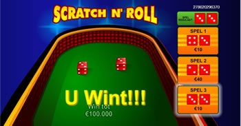 Scratch 'n Roll spel