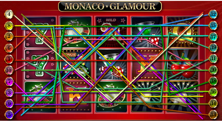 Monaco Glamour slot
