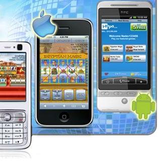 Online krasloten via Android en iPhone