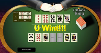 Poker King spel