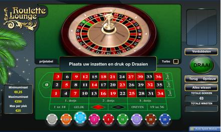 Roulette Lounge spel