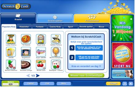 Online casino spelen downloaden
