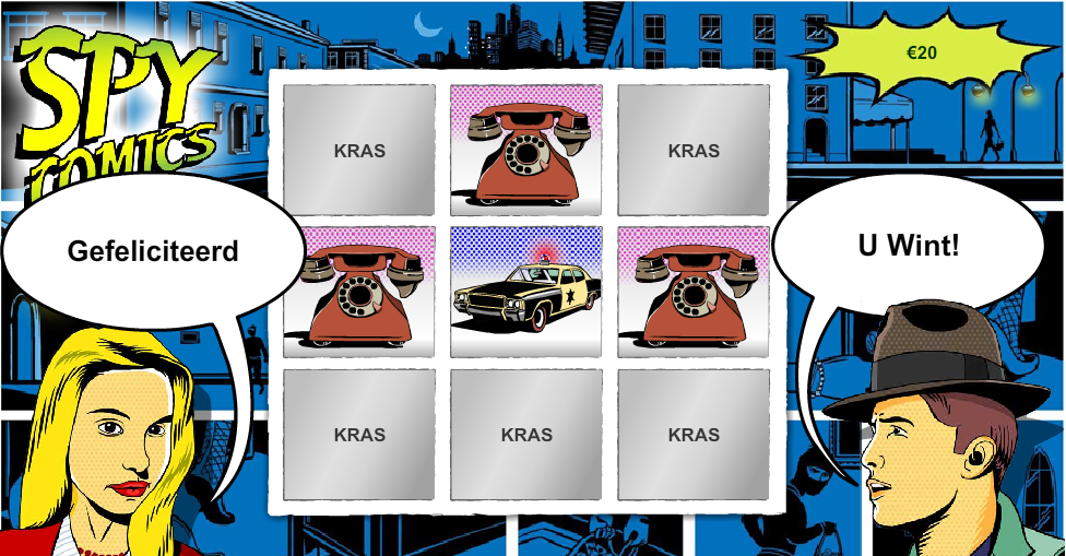 Spy Comics kraslot