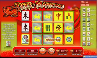 Tiger Mahjong spel