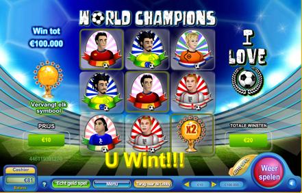 World Champions kraslot