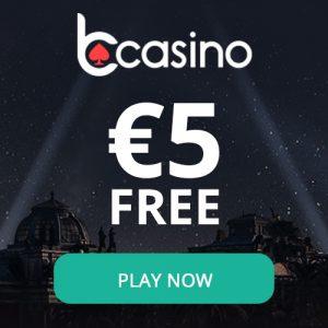 Ontvang 5 euro no deposit bij bcasino